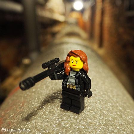 #afolclub Минифигурка LEGO девочка-снайпер