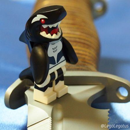 Боевые сухопутные пловцы мини-фигурки Лего в Инстаграм