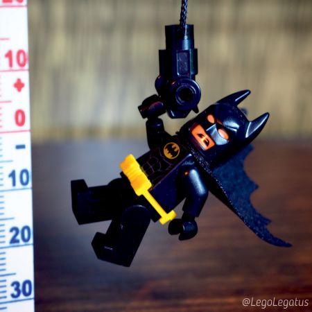 Hello World - первое фото с Бэтменом акк @legolegatus