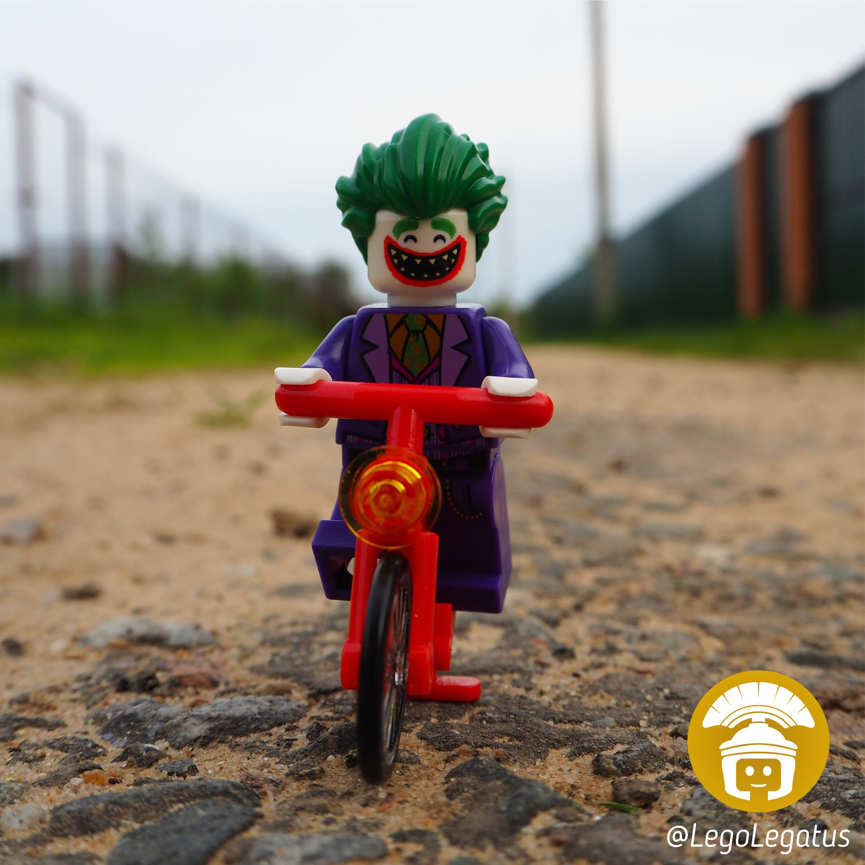 Джокер зовет погонять на лясиках!